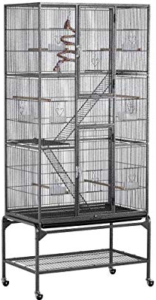 Yaheetech Wrought Iron 3 Levels Cage